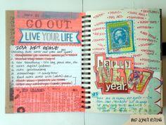 Sketchbook Archive: Mini Smashbook Dec 31 ... | BAD JONES RISING, the blog.