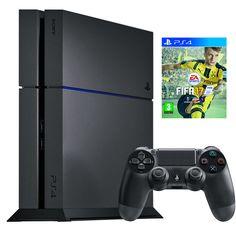 Playstation 4 1Tb -konsoli, 369 €. Mukana FIFA 17 -peli. Norm. 469 €.  KONSOLINET, 4. KRS