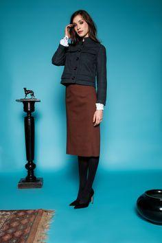 Szedő blazer by Celeni Checked Blazer, Grey, Cotton, Style, Fashion, Gray, Swag, Moda, Fashion Styles