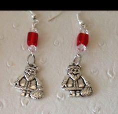 A personal favorite from my Etsy shop https://www.etsy.com/ca/listing/508674175/santa-earrings-christmas-earringstibetan