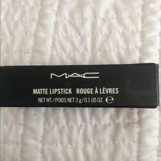 Whirl lipstick Only swatch whirl Mac lipstick.  Price firm                            🚫🚫NO TRADES🚫🚫🚫. MAC Cosmetics Makeup Lipstick