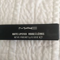 Whirl lipstick Only swatch whirl Mac lipstick.  Price firm                            🚫🚫NO TRADES🚫🚫🚫. MAC Cosmetics Makeup Lipstick