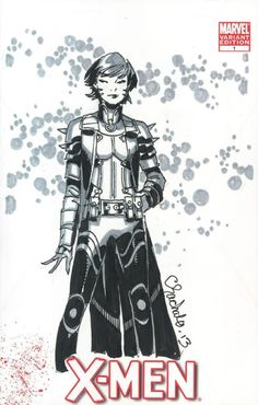 Chris Bachalo - Rachel Grey/Summers - CGC SS Comic Art