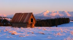 Vysoké Tatry High Tatras, Cottages, Cabin, House Styles, Home Decor, Cabins, Decoration Home, Country Homes, Room Decor