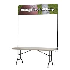Order custom banners and signs for your next trade show, expo or other event right here! Professional banner flags and sail signs give your booth curb appeal!