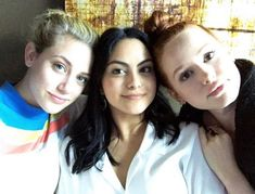 The PowerPuff Girls of Riverdale Riverdale Quotes, Riverdale Cw, Lili Reinhart, Betty & Veronica, Camilla Mendes, Cw Tv Series, Riverdale Characters, Three Best Friends, Romance
