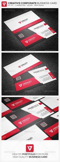 Creative Corporate Business Card 58