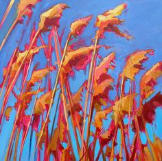 """by Ed Chesnovitch oil """"Color & Light are the focus of my pastel paintings which evoke an underlying current of energy, captured in nature, at extrem Landscape Art, Landscape Paintings, Impressionist, Light Colors, Contemporary Art, Pastel, Watercolor, Canes, Yellow"""
