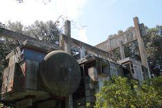 La casa albero o casa sperimentale progettata da Giuseppe Perugini, Raynaldo Perugini e Uga De Plaisant viene costruita a Fregene alla fine degli anni '60.  Si tratta di un progetto sperimentale sia nella forma che nell'uso dei materiali, che rimandano all'architettura brutalista caratterizzata