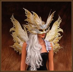 Hey, I found this really awesome Etsy listing at https://www.etsy.com/listing/246087742/adult-fairy-wingspearlescent