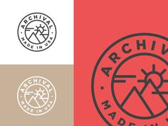 Archival Illustration designed by Tyler Rogers. Connect with them on Dribbble; Coperate Design, Graphic Design, Logo Branding, Brand Identity, Logos, Logo Inspiration, Vintage Inspired, Illustration, Oregon
