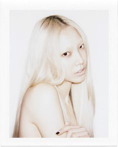 Soo Joo Park by Robin Black Shades Of White, Color Shades, Colour, Cold Face, Hair To Go, Lovely Creatures, I Love Girls, Fashion Shoot, Cut And Color