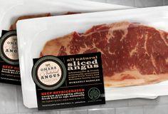 Meat Packaging - Omaha Natural Angus