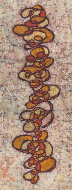 Fine art batik by Kevin Houchin.