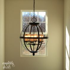 Tuscany chandelier foyer light