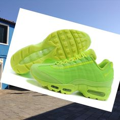 new arrival 5aa81 fe21b Nike Air Max 95 mens shoes Green 2015 Logical shoe is easy with the Nike Air