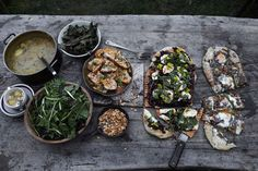 outdoor entertaining, rustic, farm-to-table, pizza party // photo: John Lee