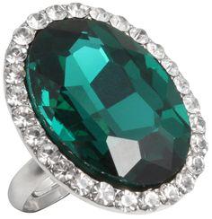 Ring - Emerald Green - Bijou Brigitte Online-Shop