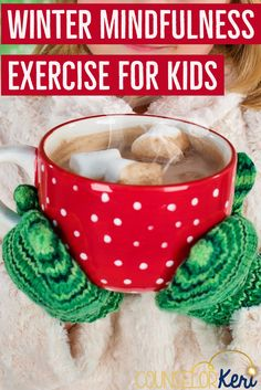 Mindfulness exercise for elementary school counseling. Great for classroom guidance lesson of small group counseling mindfulness activity! -counselor Keri