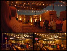 Beautiful pole barn wedding