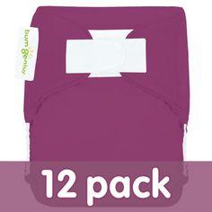 bumGenius Newborn Cloth Diaper 12-Pack - Diaper Packages - Cotton Babies Cloth Diaper Store #CottonBabies