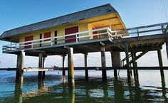 Stiltsville: had memorial service on this very house for an old friend and we scattered his ashes on the waves of goodbye. Amazing places out on the ocean.
