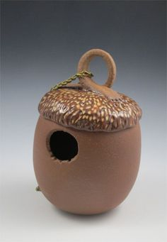 Image result for Clay Pottery Bird Houses