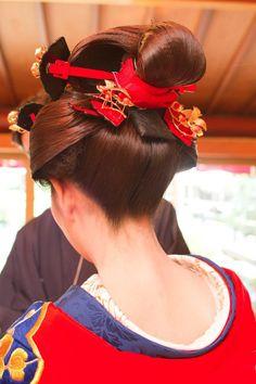 店主、京都へいく 結髪修行編② の画像|髪結いがはじめた着物屋 「縁-enishi-」のブログ