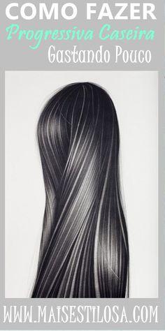 Como fazer escova progressiva caseira com leite de coco, limão, maisena e óleo de coco extra virgem. CLIQUE AQUI e saiba mais sobre esse alisamento natural. Beauty Care, Beauty Hacks, Hair Beauty, Straight Hairstyles, Cool Hairstyles, Natural Cosmetics, How To Make Hair, Hair Today, Coco