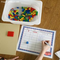 LEGO Multiplication Mats! Printable Math Activity - Frugal Fun For Boys and Girls