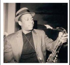 John Coltrane in the early 1950s