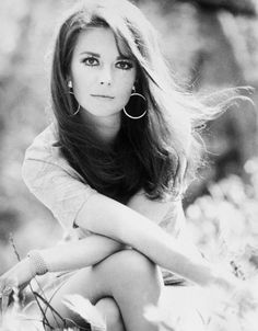 Natalie Wood and her sparkling eyes....she was utterly beautiful and this photo is the perfect display of that