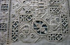 Italian-needlework..The technique can be traced back to the late 15th century.