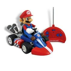 Mariokart Wii Mini Radio Control Kart By Super Mario 35 95 Just Like In The Game Authentic Kart Design And D Mario Kart Radio Control Radio Controlled Cars