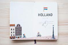 近藤圭恵 : 『 HOLLAND 』 オランダのページです。