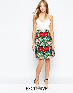 Really digging the print of this inverted pleat midi skirt, abso perfect for spring! http://asos.do/gO9QZf