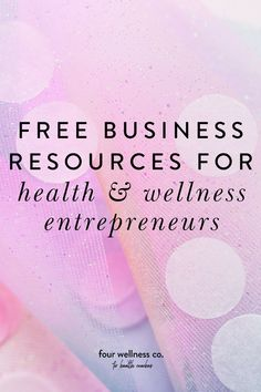 Free Business Tips and Resources for health coaches and wellness professionals   Entrepreneur Tips   Wanting to start a health coaching or wellness business? Click to get your free guide featuring business tools, growing an audience, designing a beautiful website and a free website checklist for entrepreneurs!   Freelance Resources   Small Business Tips   Four Wellness Co.  #healthcoaching #wellnesscoach #onlinebusiness #coach #websitedesign #businesstips #Businessresources