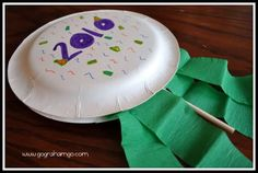 New Year's Craft for Kids {Noise Makers}