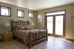 Morton Buildings custom home interior in Robertson, Wyoming.