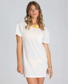 Head Rush Tee Shirt Cover Up Dress | Billabong US