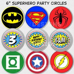 superhero birthday - Google Search