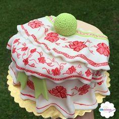 Estilo Panameño Wedding Cake Decorations, Unique Cakes, Cute Cakes, Fondant Cakes, Fish And Seafood, Tasty Dishes, Cake Designs, Amazing Cakes, Cake Decorating