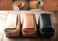 Men's Toiletry Kit Leather Toiletry Kit Dopp Kit Travel por MrLentz