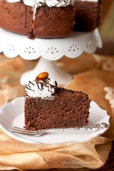 """Torta """"Desiderio """" con mandorle e castagne"""