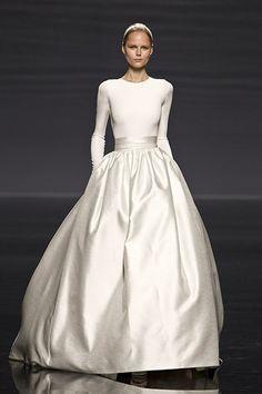 Rosa Clara 2014 - wedding dress Is this a wedding dress? Well, even if it is, I'd wear it! LOL