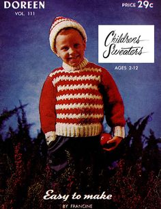 Childrens Sweaters | Volume 111 | Doreen Knitting Books
