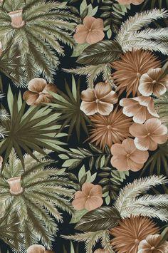 Wallpaper by ellos Leon tapetti - Roosa - Koti & sisustus - Ellos.fi I Wallpaper, Autumn Leaves, Just In Case, Banner, Prints, Painting, Color, Design, Kitchen