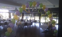21st Birthday balloon arch