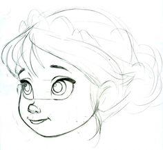 Pin tillagd av cora d på disney i 2019 cartoon drawings, art Easy Cartoon Drawings, Cartoon Girl Drawing, Manga Drawing, Disney Drawings, Girl Cartoon, Figure Drawing, Art Drawings, Cartoon Kunst, Cartoon Art
