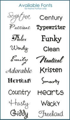 hasty, freehand tattoo fonts